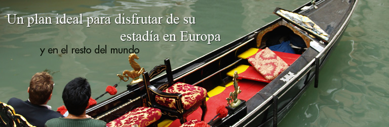 Un plan ideal para disfrutar de su estadía  en Europa y en el resto del mundo